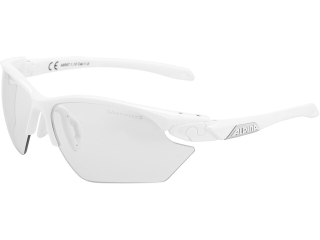 Alpina Twist Five HR S VL+ Lunettes, white